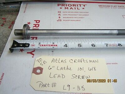 Atlas Craftsman 6 618 101 Lathe Bed Lead Screw 31 12 L9-35