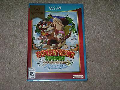 Donkey Kong Country Tropical Freeze   Nintendo Wii U      Sealed   Brand New