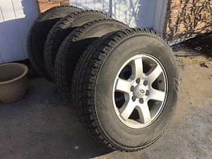 Toyo Observe GSi5 Winter Tires, Ford Alloy Rims, 2015+ F150 TPMS