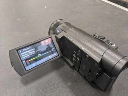 Sony FDR-AX100 4K Camcorder, Excellent Condition