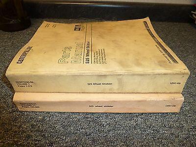 Cat Caterpillar 525 Wheel Skidder W3304 Engine Parts Catalog Manual Sn 1dn1-up