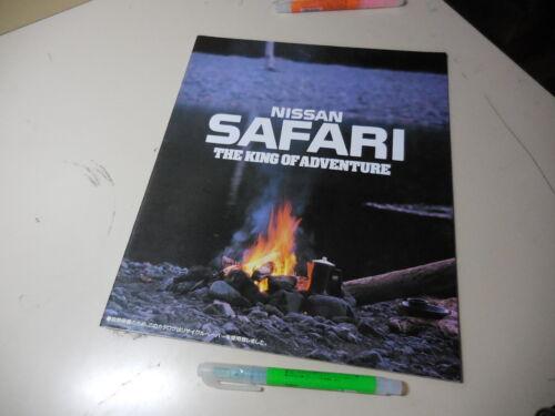 Nissan SAFARI Japanese Brochure 1991/03 Y60 TD42 Ford Maverick Ebro Patrol