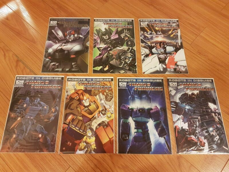 Transformers Robots in Disguise #1-13 + Annual 2012 Cybertron Autobots IDW Z2