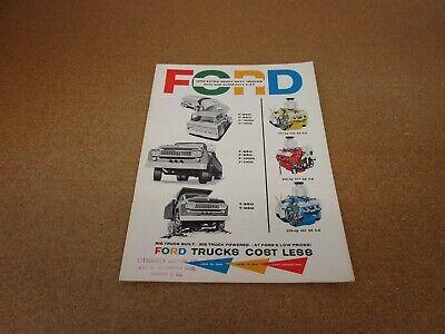 ORIGINAL 1958 Ford truck Super Duty F850 F1000 C850 C1000 Tilt sales brochure comprar usado  Enviando para Brazil