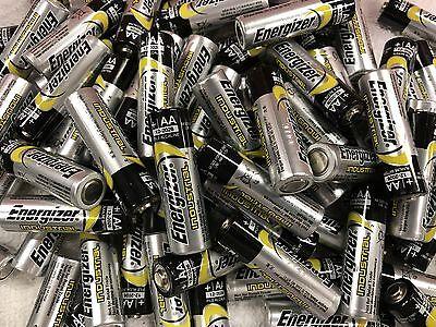 Energizer Industrial Alkaline AA RC Radio 1.45 Volt Batteries 100 Pack Toys,