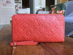Authentic Louis Vuitton Classic Monogram Leather Wallet Richmond Yarra Area Preview