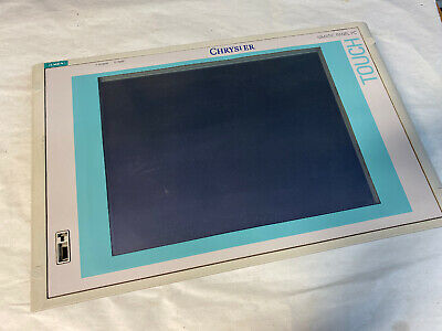 Siemens Simatic Panel Pc Touch Screen 15 Ase00100111 Version A Fast Shipping