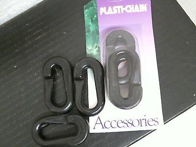 Easy Gardener Connecting C - Link Plasti-Chain Black #583
