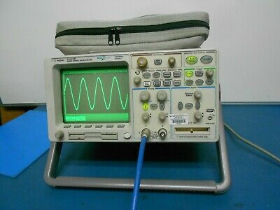Agilent Hp 54622d Oscilloscope 100mhz 200msas 216 Channels