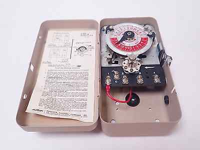 AMF PARAGON ELECTRIC EC 42 TEMPERATURE SCHEDULER / AUTOMATIC SETBACK CONTROL