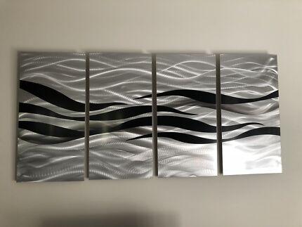 Metal art wall art