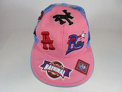 664fe8c9b47f6 NATIONAL NEGRO LEAGUE BASEBALL MUSEUM PINK LADIE S BASEBALL CAP HAT SIZE 7  3 8