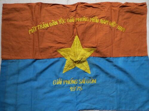 SAIGON  , Battle Flag ,  NVA flag ,  LAST YEAR , SAIGON 1975  , VIETNAM WAR FLAG