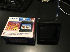 Casio pocket TV.