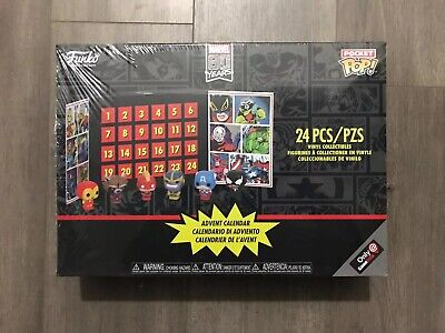 Funko MARVEL Advent Calendar Pocket Pop! Minis 24 pcs - Collectible (NEW)