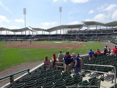 Red Boston Wash - (2) BOSTON RED SOX vs WASH NATIONALS SPRING TRAINING THUR 2/28 SECT 116 ROW 5