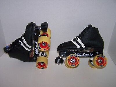 NEW RIEDELL 122 LABEDA CUSTOM LEATHER ROLLER SKATES BOYS SIZE 3