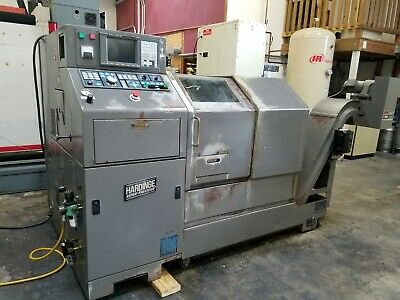 Hardinge Conquest Gt Gang Lathe Cnc Turning Center W Fanuc 18tb Control