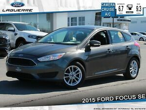 2015 Ford Focus SE**CAMERA*CRUISE*A/C*GR. ELETRIQUE**