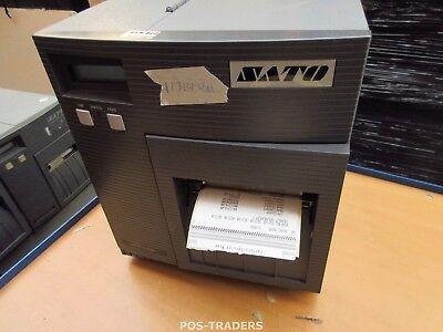 """SATO CL408E Parallel Thermo Label Drucker REWINDER 203dpi 4.1"""" 104mm - 11314.4 M"""