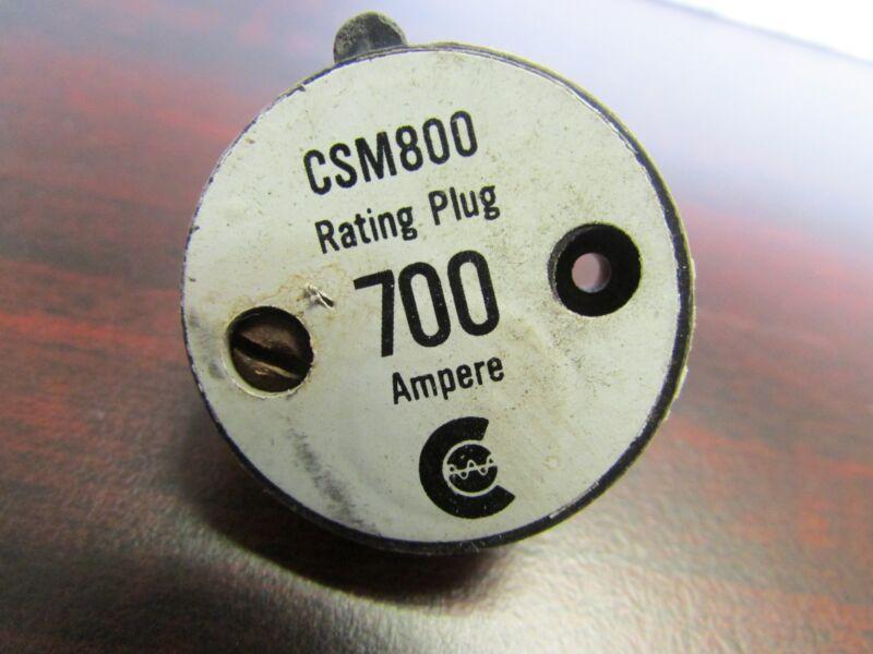 Challenger Westinghouse Cutler Hammer Rating Plug  8CSM700 1241C58G04