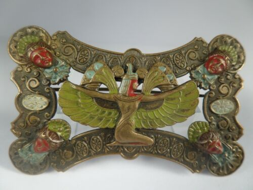 An exceptional Antique Piel Freres, Egyptian Revival Brooch - 1905-1910.
