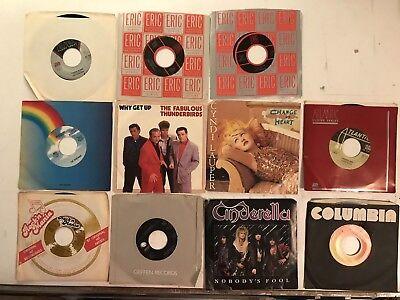 Lot of 11 1980's 45 RPMs