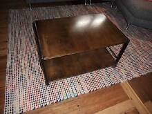 industrial-look coffee table Bar Beach Newcastle Area Preview