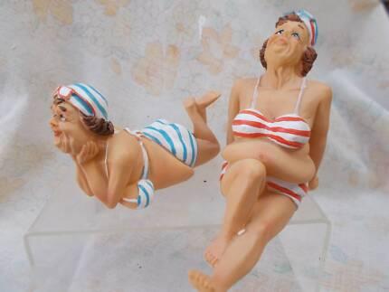 Cute and Unusual Bathing Ladies.