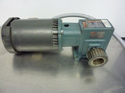 Unimount 125 F055a Enclosed He Motor W Tigear Reducer Gear Box  21746