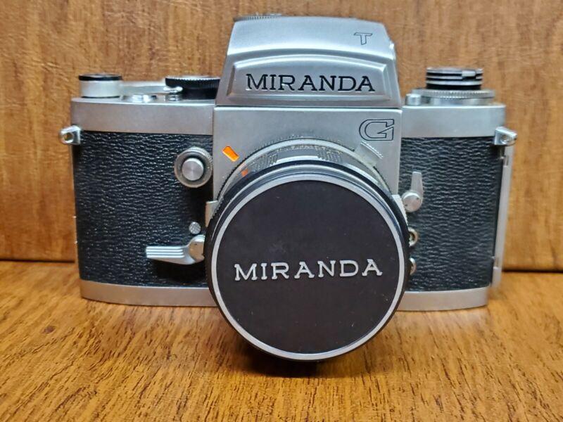 Vintage Miranda G T Camera W/ Miranda Case