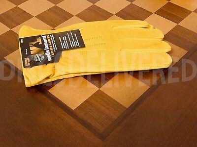 Wells Lamont Premium Cowhide Leather Work Gloves M, L, XL - Trusted Seller Cowhide Leather Work Gloves