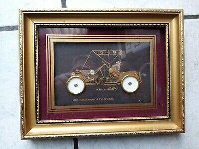Ken Broadbent Collage Wandbild mit Uhr