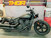 Indian SCOUT BOBBER 60 2021 MODEL 1000cc MATT BLACK NOW ONLY 1 LEFT £10250