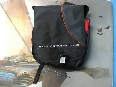Playstation 3 Padded Travel Bag Back Pack Used