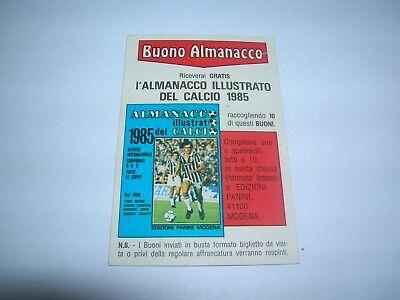 PANINI Buono Almanacco Illustrato del Calcio 1985