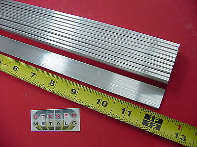 10 Pieces 18 X 34 Aluminum Flat Bar 12 Long 6061 T6511 New Mill Stock