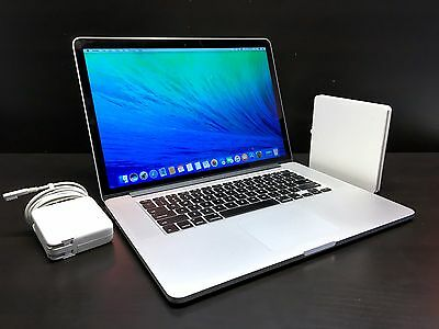15 MacBook Pro Retina OSX 2015 *2.4Ghz Core i7 / 16GB / 512GB SSD* Warranty!
