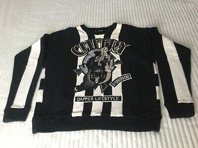 Kansai Yamamoto sweater Dapper Collection