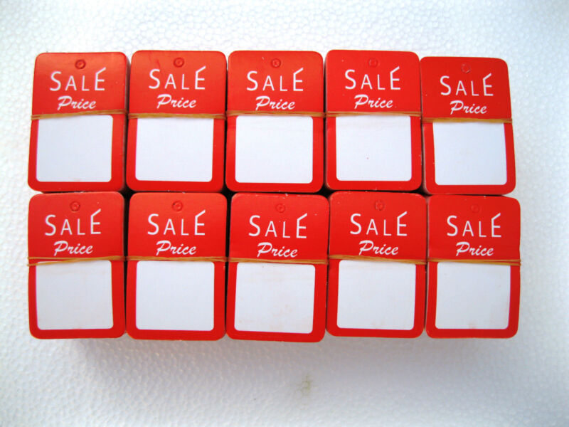 """1000 PCS. 1-1/4"""" W X 1-7/8 H  Special Price Garment  Price Hanging  Lables  Tags"""