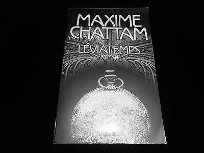 Maxime Chattam : Léviatemps Editions GF Albin Michel