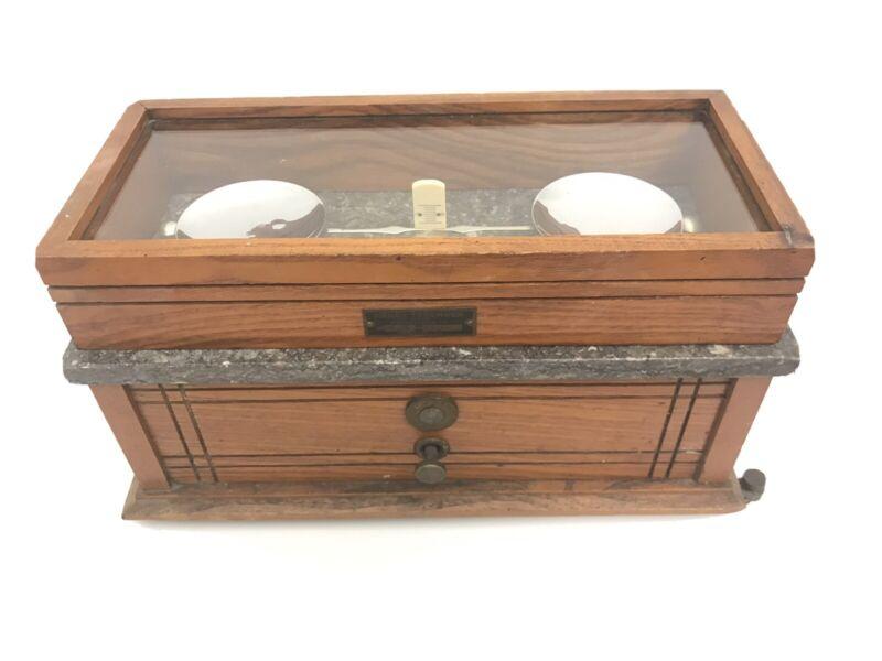 Antique Henry Troemner Apothecary Balance Scale Model 190 B