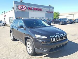 2015 Jeep Cherokee North Bluetooth - AWD - PST Paid