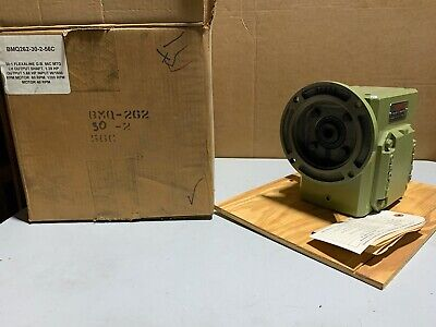 Grove Gear Bmq262-30-2-56c Worm Gear Speed Reducer Lh 301 Ratio 1.4 Input Hp