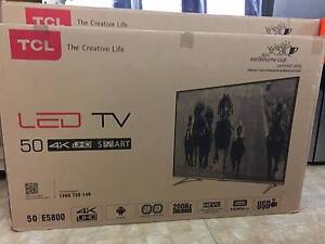 "TCL 50"" U50E5800FS 4K ULTRA HD SMART LED LCD TV 12MONTHS WARRANTY Dandenong Greater Dandenong Preview"