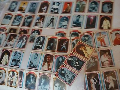Almost Complete Set of 1978 Elvis Bubblegum Trading cards