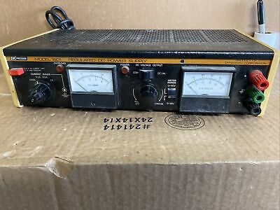 Bk Precision Model 1601 Regulated Dc Power Supply Used