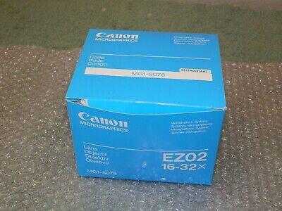 Canon Zoom Lens Ez 02 Microfilm Scanner 400 Zoom X16 - 32