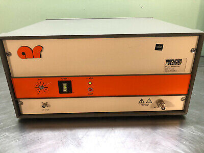 Amplifier Research Rf Amplifier Model 150a100a 10khz-100mhz 150watts With Manual