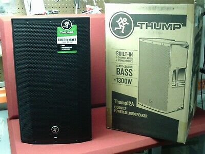 "Mackie Thump12A 1300W 12"" Powered Loudspeaker, Mint Condition"